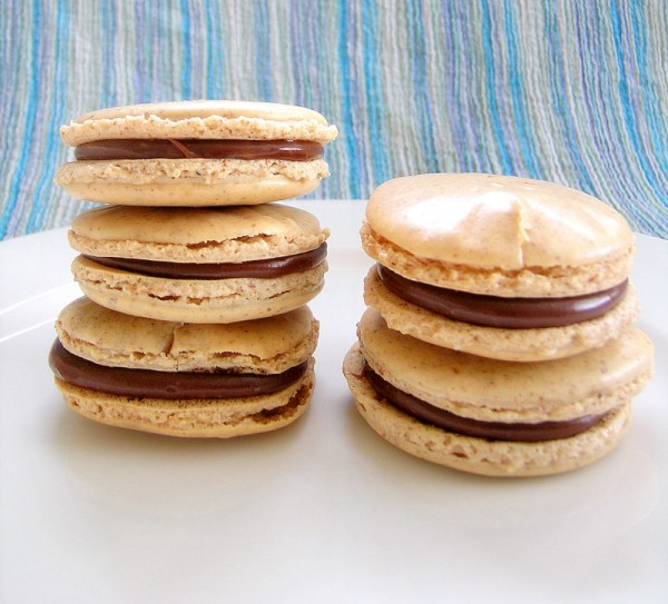 Coffee And Nutella Macarons Sweetest Kitchen