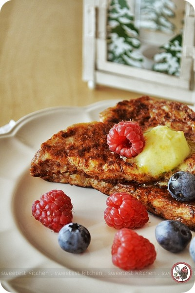 Cinnamon French Toast With Citrus Butter - sweetest kitchen