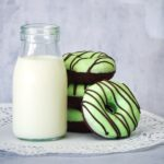 Mint Chocolate Baked Donuts